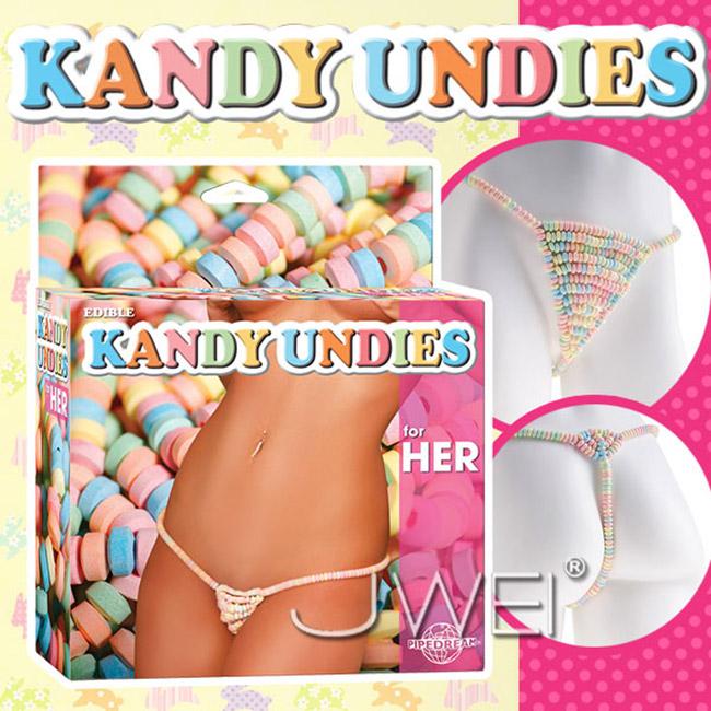 美國原裝進口PIPEDREAM.EDIBLE KANDY UNDIES糖果丁字褲-女用
