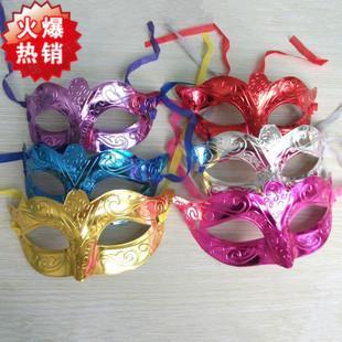 單色情趣面具 性感面具眼罩 角色扮演聖誕節萬聖節化妝舞會派對配件