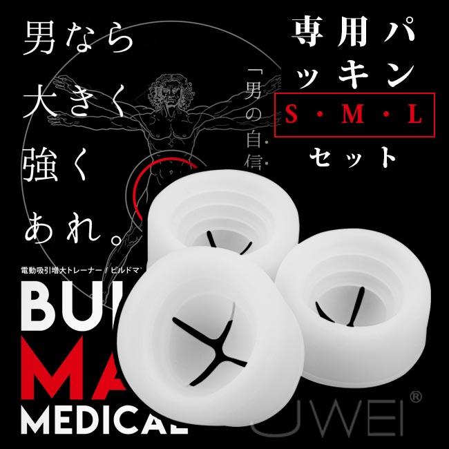 日本原裝進口NPG.BIILD MAN MEDICAL 専用替換 S・M・L 高級矽膠套