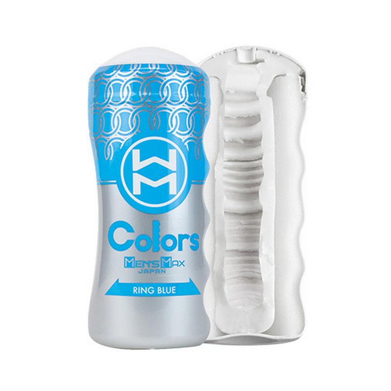 日本Men' s Max Colors 超真空【急劇刺激】男用高潮飛機杯自慰杯(藍色)