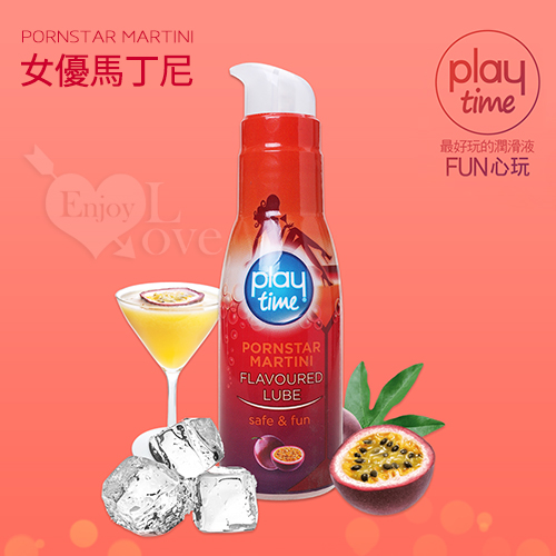 "Play Time ""Fun心玩""女優馬丁尼情趣潤滑液 75ml"