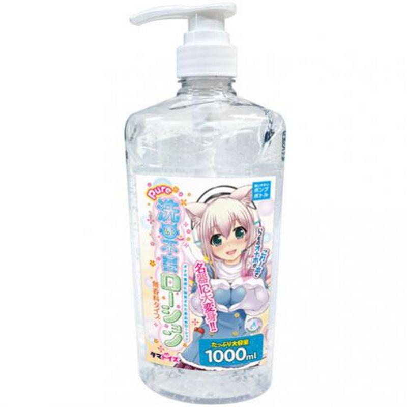 日本 Tama Toys Pure 免洗無香料低黏度水溶性潤滑液1000ml