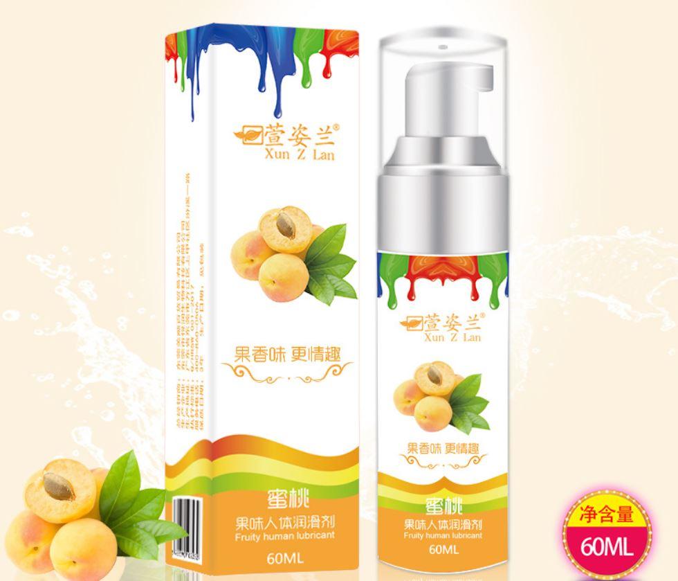 Xun Z Lan ‧ 蜜桃 - 濃郁果味口交潤滑液 60ML♥