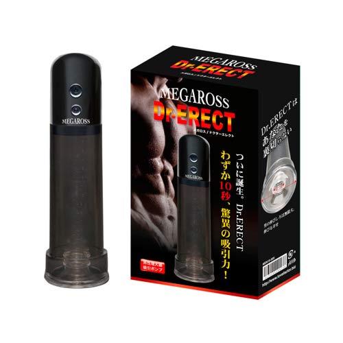 日本NPG*メガロス 【ドクターエレクト】電動男用高潮吸吮器