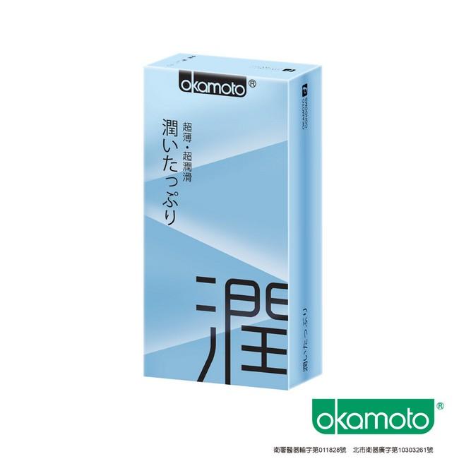 OKAMOTO 日本岡本‧City - Ultra Smooth 極潤型保險套 10入裝