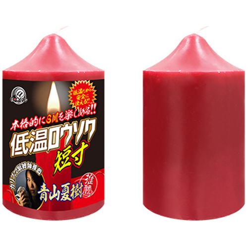 日本A-one*低温ロウソク 低溫蠟燭(短寸)