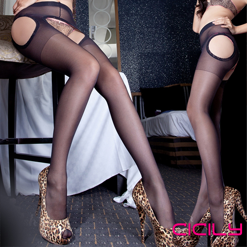 CICILY 唯美情境 免脫性感顯瘦連褲襪♥