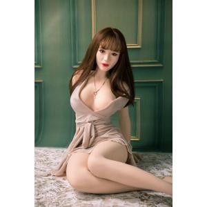 《 飄飄 - 韓系女神 》全實體矽膠不銹鋼變形骨骼娃娃 真人版﹝165cm / 35kg﹞♥