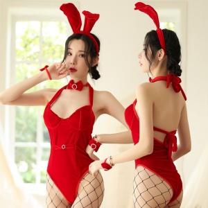 性感兔女郎連身情趣裝♥