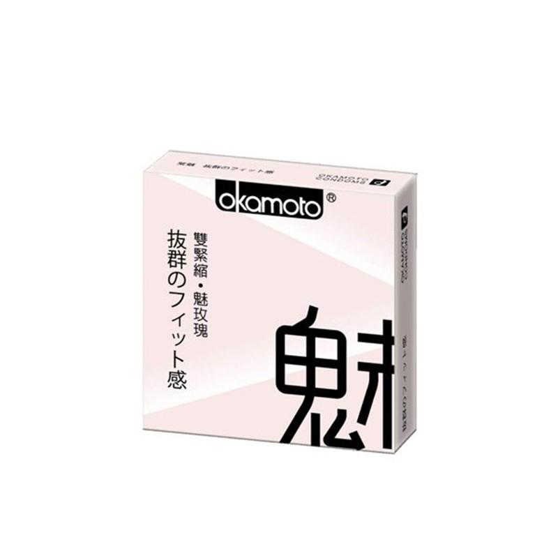 OKAMOTO 日本岡本‧City-Fit 緊魅型 保險套 3入裝
