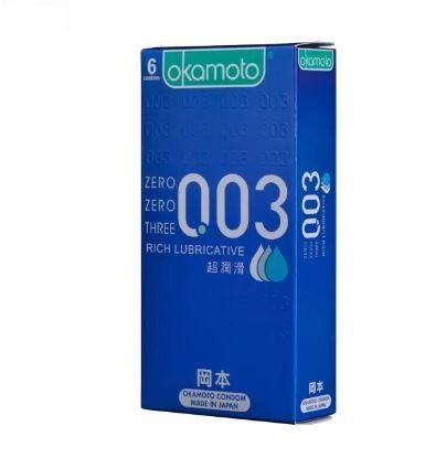 OKAMOTO 日本岡本‧003超潤滑10入