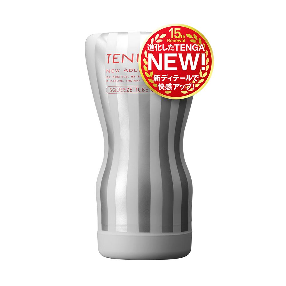 日本TENGA自慰杯15週年 擠捏杯柔嫩版(一次性使用商品)男用自慰套飛機杯自慰器情趣用品日本進口