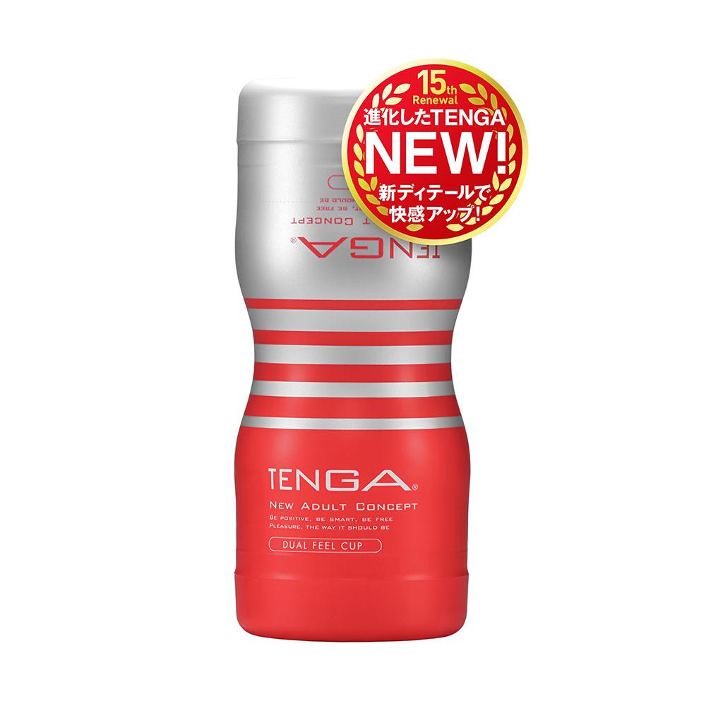 日本TENGA自慰杯15週年 雙重杯(一次性使用商品)男用自慰套飛機杯自慰器情趣用品日本進口