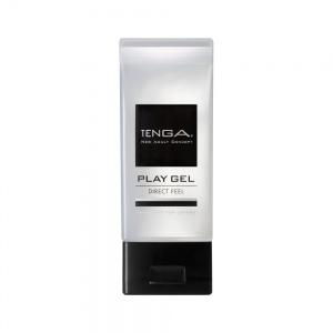 日本TENGA共趣潤滑液 PLAY GEL DIRECT FEEL刺激直達感潤滑液160ML(黑色)...