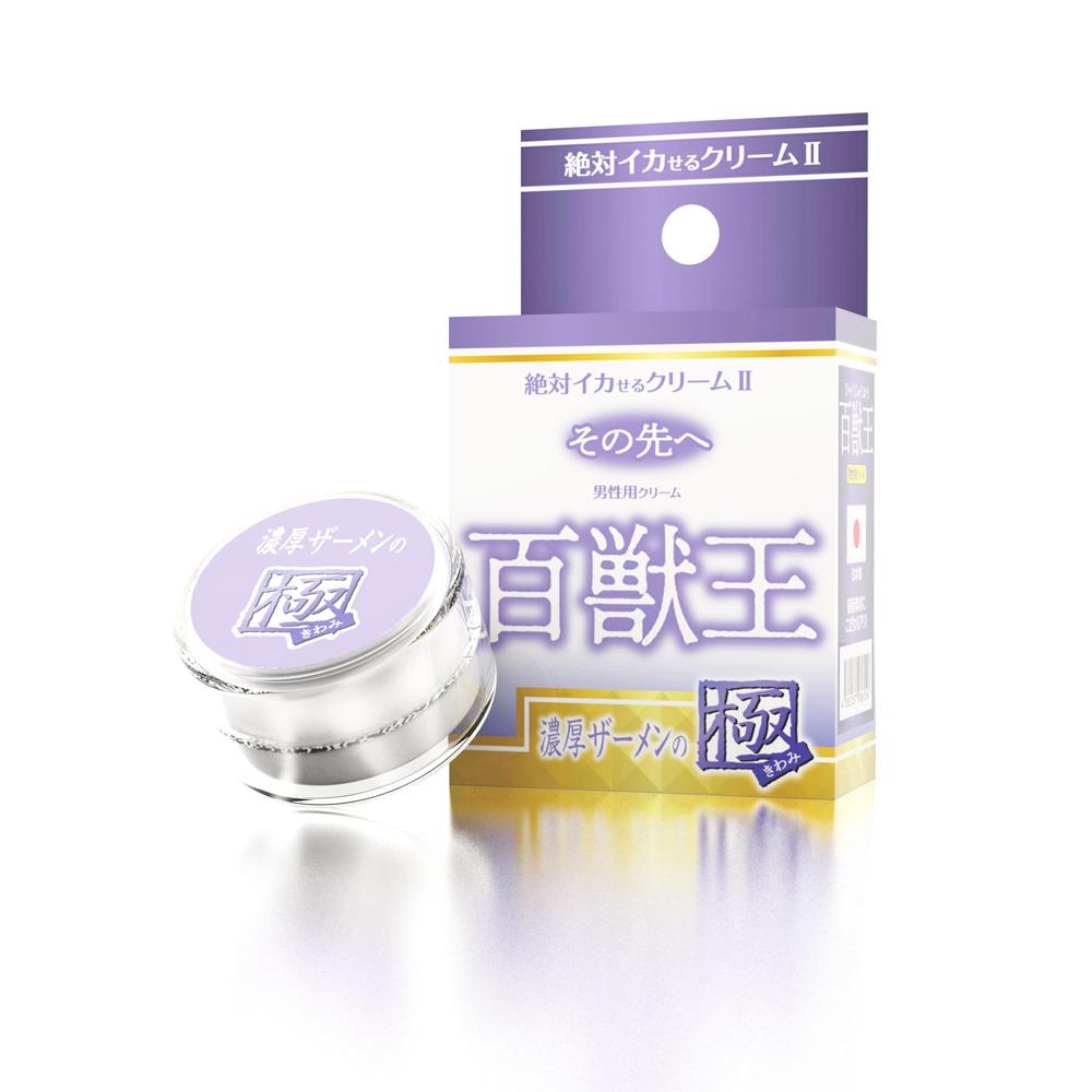 日本SSI JAPAN潤滑凝膠50倍【男性用】百獸王濃厚精液至極2催情高潮潤滑液(12g)