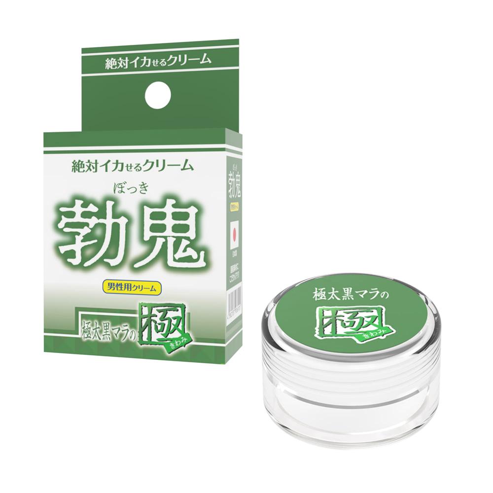 日本SSI JAPAN潤滑凝膠【男性用】勃鬼極太黑之極催情高潮潤滑液(12g)