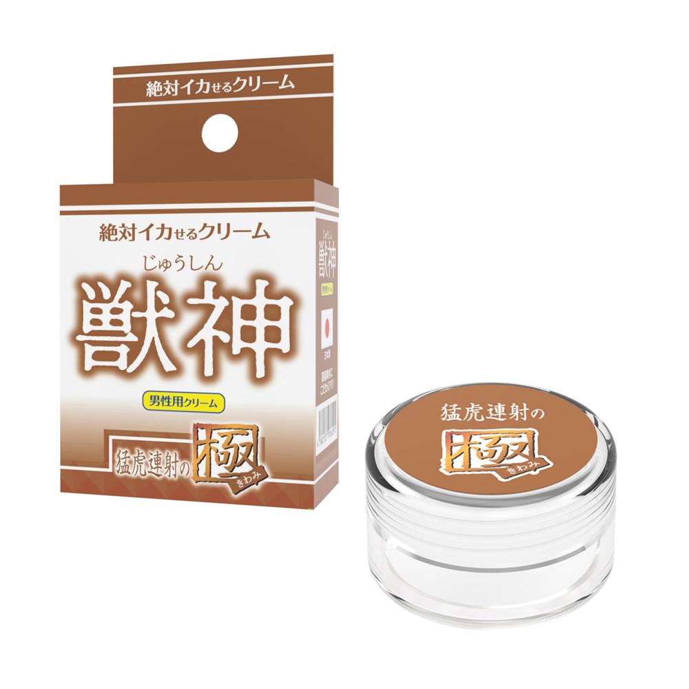 日本SSI JAPAN潤滑凝膠【男性用】獸神猛虎連射之極催情高潮潤滑液(12g)
