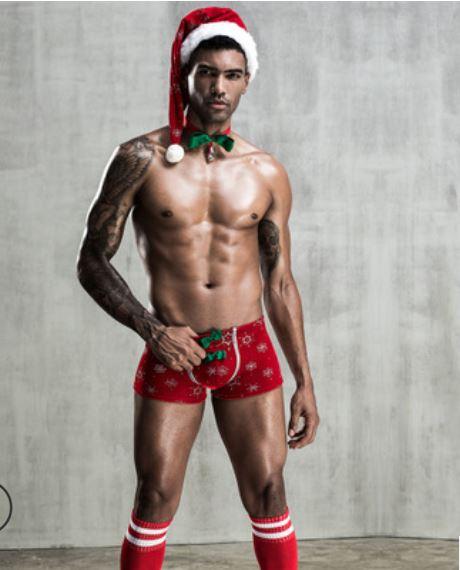 男士歐美聖誕裝扮♥