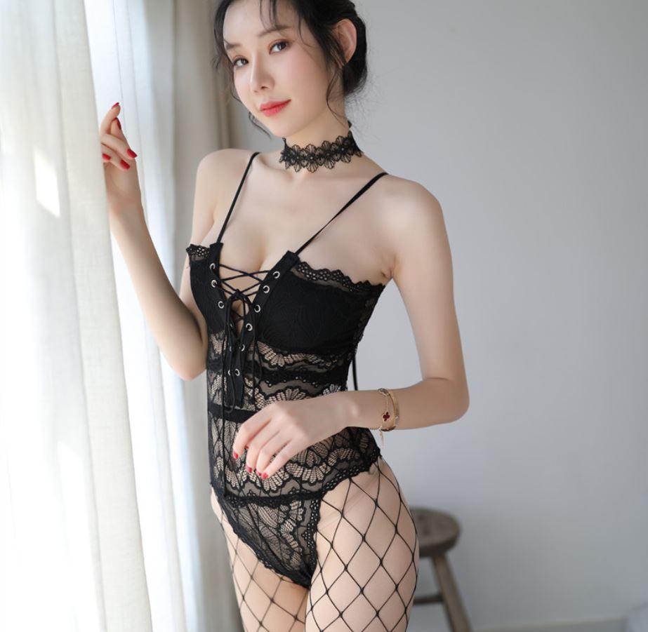 中大尺碼ღ宮廷馬甲蕾絲連身衣 2XL♥