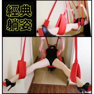 吊頂性愛鞦韆升級五墊帶頭枕定位組-附三腳架♥