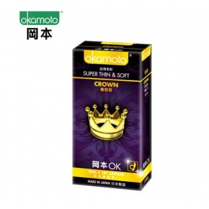 OKAMOTO 日本岡本‧超薄貼身 皇冠型 10片
