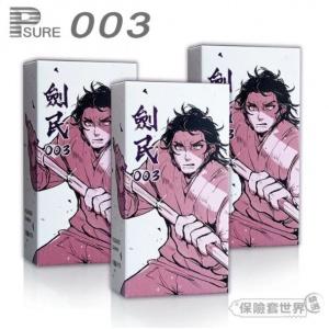 PLEASURE 劍民 平價動漫版 003 樂趣超薄保險套(12枚裝)