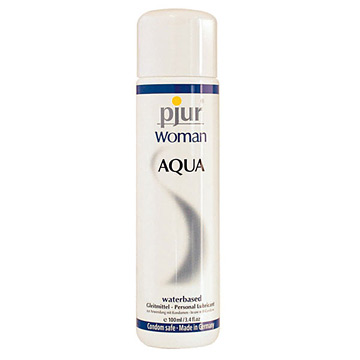 Pjur《Woman AQUA純淨水性潤滑液》女性專用(按摩油)