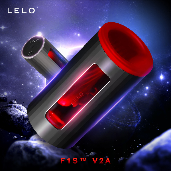 LELO F1S™ V2A 第二代智能飛機杯 紅色 電動飛機杯 吸吮電動飛機 吸允電動飛機杯 自動飛...