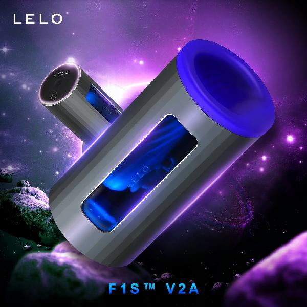 LELO F1S™ V2A 第二代智能飛機杯 藍色 電動飛機杯 吸吮電動飛機杯 吸允電動飛機杯 自動...