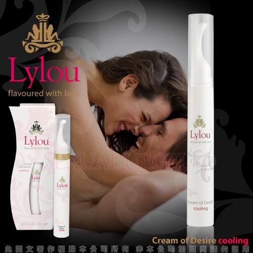 德國Lylou- Cream of Desire Cooling 頂級奢華奶油慾望冰感情趣提升凝露【...