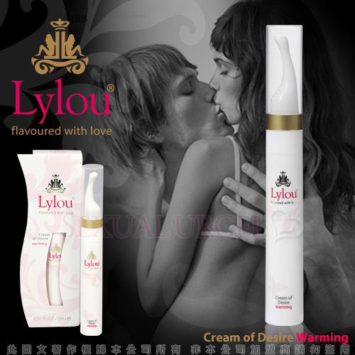 德國Lylou- Cream of Desire Warming 頂級奢華奶油慾望熱感情趣提升凝露【...